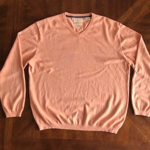 Weatherproof vintage men v-neck sweater XL